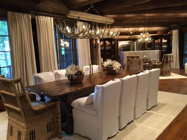 Custom antler chandeliers for local colorado lodge aloadofball Image collections