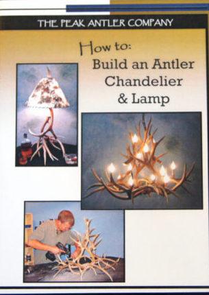 Diy Make Antler Chandelier Kit Dvd Supplies The Peak
