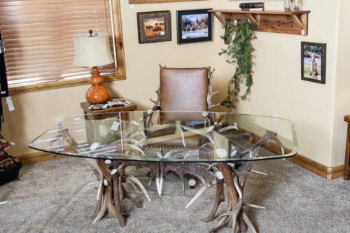 902 elk antler desk home office antler decor
