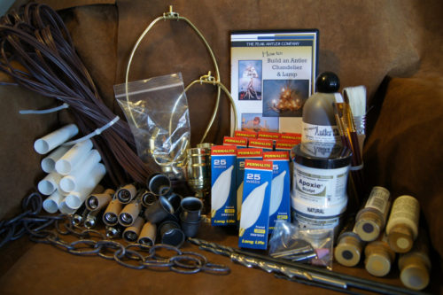 Diy Antler Lighting Full Kit With Dvd Supplies