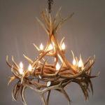 507-S elk antler chandelier haymen
