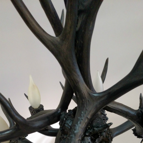 Christmas Tree Made Of Deer Antlers: Antler Christmas Tree, Large